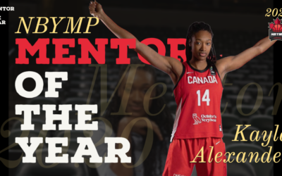 NBYMP mentor Kayla Alexander wins Mentor of the Year Award