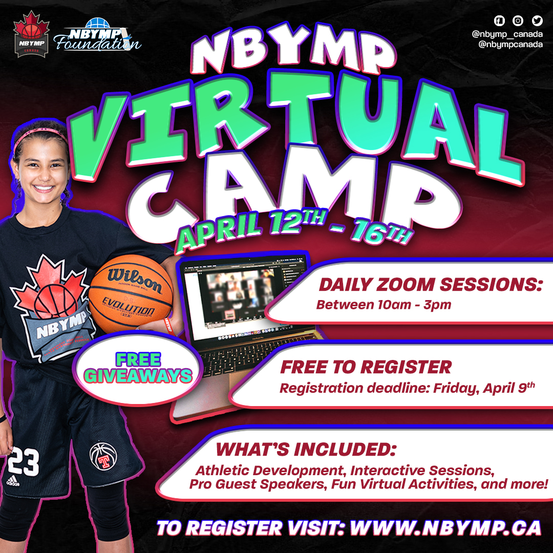 NBYMP Virtual Camp Infographic, April 2021